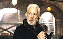 DONALD SUTHERLAND as       John Bridger.